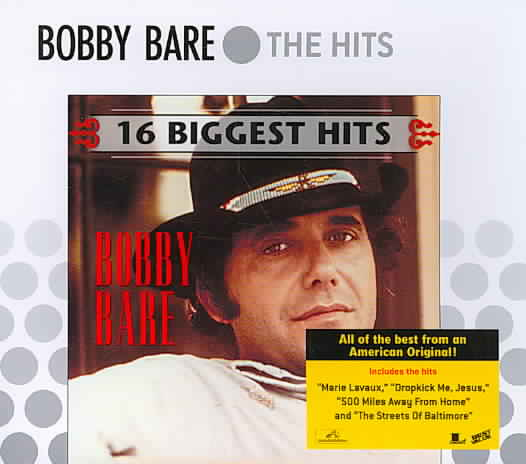 16 BIGGEST HITS BY BARE,BOBBY (CD)